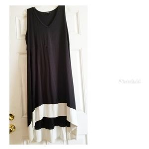 💎 Hi Low sleeveless dress. Size 2x